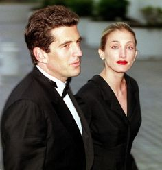 July 16, 1999: John F. Kennedy Jr., his wife Carolyn; and her sister Lauren Bessette,die when the single-engine plane that Kennedy was piloting crashes into the Atlantic Ocean near Martha's Vineyard. Photo: John Kennedy Jr and wife Carolyn,May 23, 1999 (Justin Ide/Gett)