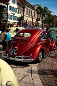 vw beetle red split window