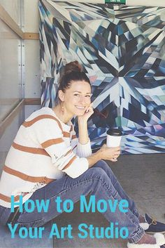 Learn how to safely pack up and move your art studio! | Packing Tips