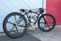 Very retro 80cc bike