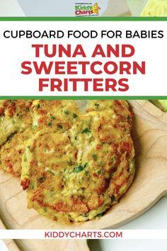 Toddler Food Recipes, Baby Recipes, Tuna Recipes, Toddler Meals, Indian Food Recipes, Kids Meals, Great Recipes, Tuna Croquettes Recipe, Sweetcorn Fritters Recipe