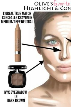 Tutorial: How To Highlight & Contour Like A Makeup Artist!! - Click the image for the Tutorial!
