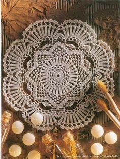 A cual màs bello para decorar nuestras mesas o muebles de preferencia usa siempre hilados de algodòn fino es el mejor material para ello   ...