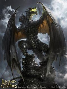 The Dark Knight Dragon by 88grzes on DeviantArt