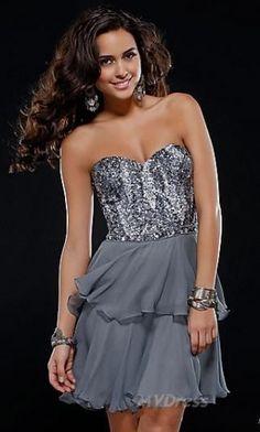 evening dress short dress