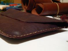 Hand crafted Leather 7 Tablet Sleeve SOLD