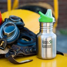 Klean Kanteen 12oz Sippy Brushed Stainless