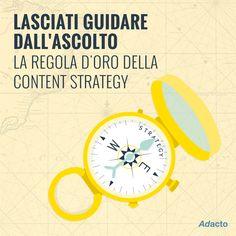Una #ContentStrategy di successo inizia dall'#ascolto. Il nostro #Tips4Business di oggi è da tenere sempre a mente! ;)
