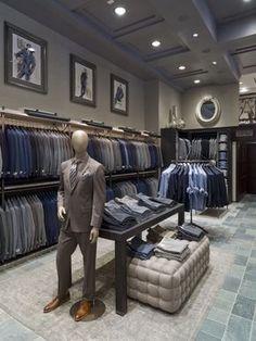 Joseph Abboud Flagship Store by Jeffrey Hutchison & Associates, New York City