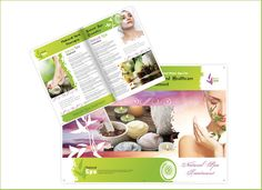 Wonderful Abstract Brochure for SPA Salon