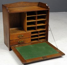 antique traveling writing desk -live auctioneers