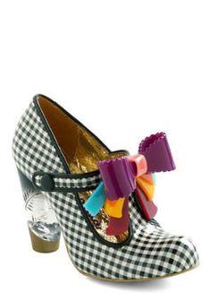 Irregular Choice You Candy Do It Heels   Mod Retro Vintage Heels   ModCloth.com