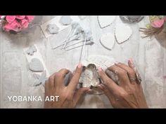 MI RECETA DE MASA FLEXIBLE, FÁCIL, RÁPIDA Y ECONÓMICA - YouTube Creative Crafts, Fun Crafts, Diy And Crafts, Jewelry Making Tutorials, Clay Tutorials, Clay Projects, Clay Crafts, Christmas Projects, Christmas Diy