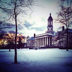 Old Main at Pennsylvania State University