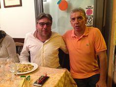 Con Mauro, dopo 20 anni ci siamo rincontrati, davanti a un piatto di Rigatoni alla Carbonara