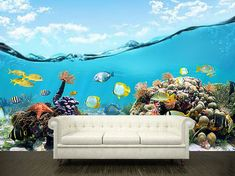 """Giant wall mural. Size: 118x118""""(300x300cm)  Amazing thing for your interior!    High quality self-adhesive peel and stick vinyl. Consists of 5 sheets. Comes in a tube.  If you need CUSTOM size just write us!    How to Install Murals    1. Clean your wall or other surface. Be sure it is smooth, d..."""
