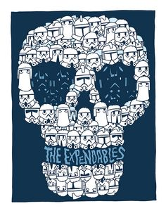 THE EXPENDABLES by ZOMBIEHIPP, via Flickr
