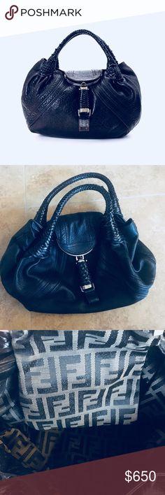 Vintage Fendi Spy Purse Black 22656ebfef21d