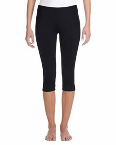 Bella + Canvas Ladies' Cotton/Spandex Capri Fit Legging 0811