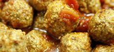 Polpettine vegetariane al sugo | Ricette Leggere, Vegetariane