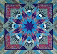 Summer Solstice, Quiltworx.com, Made by Kristina Morrow
