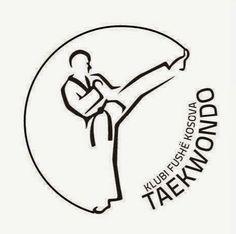 Logo e Klubit Taekwondo fushe kosova e punuar nga une Logos, Typography Logo, Art Logo, Summer Camp Crafts, Camping Crafts, Muay Thai Martial Arts, Broncos Logo, Kyokushin, Sports Art