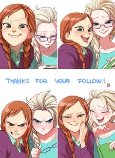 .Anna and Elsa