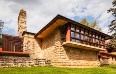 Taliesin : Frank Lloyd Wright home in Spring Green WI
