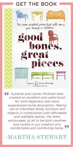 Good Bones Great Pieces; great design blog