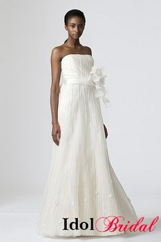 Simple  idolbridal Vintage wedding dresses IDO Casual Wedding DressesVera Wang