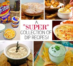 Check out this great collection of dip recipes for game day (or any day!) #dips