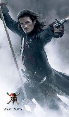 Pirates des Caraïbes : Jusqu'au Bout du Monde (2007) Orlando Bloom