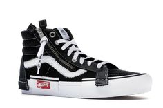 86eb154cec Check out the Vans Sk8-Hi Deconstructed Black available on StockX Vans Sk8