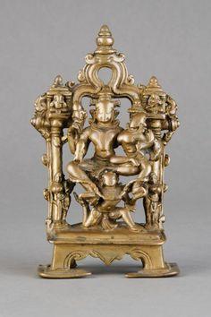 An early Indian bronze group, Gujarat, 11th century Dep : Lot 184