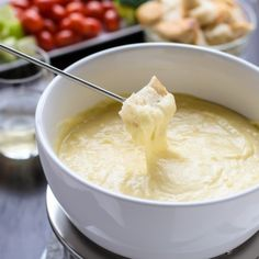 How to make perfect cheese fondue, plus ideas for fondue dippers.