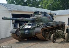 America's TANK farm: One man's astonishing collection of 100 military vehicles…
