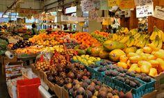 Granville Island Public Market Vancouver Vacation, Granville Island, Public, Pumpkin, Vegetables, Pumpkins, Veggies, Vegetable Recipes, Butternut Squash
