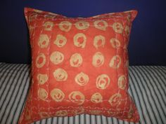 Machine design quilted pillow cushion