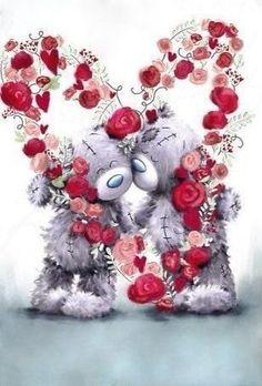 Teddy Bear Quotes, Teddy Bear Images, Teddy Bear Pictures, Tatty Teddy, Bear Valentines, Happy Valentines Day, Blue Nose Friends, Love Bear, Cute Teddy Bears