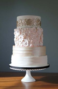 The day every girl dreams about since she was little. check out weddinspire.com for more #wedding cake images