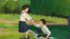 Generation Ghibli: Manu Robles: Thanks to the good reception given to the first part of the book I have not had to look for alternatives Studio Ghibli Art, Studio Ghibli Movies, Hayao Miyazaki, Totoro, Slice Of Life, Up On Poppy Hill, Chihiro Y Haku, Film Anime, Arte Disney