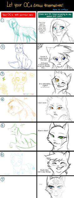 Draw Themselves Meme by RiverSpirit456.deviantart.com on @DeviantArt