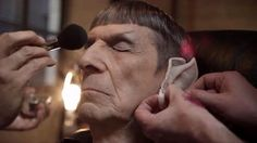 Leonard Nimoy's final appearance as Spock, in 2013