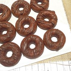 Chocolate Donuts shared by chante_studin. 1 cup chocolate Perfect Fit Protein, 1 tsp baking powder, 3 tbsp melted coconut oil, 1 tsp vanilla extract, 2 tbsp cocoa powder, 1 cup unsweetened chocolate almond milk, 1/3 cup egg whites, 1 tsp sugar, dash of cinnamon. Mix all ingredients together and bake in a donut pan. If you don't have one, just bake them in your oven at 350 degrees for 30-40 minutes. Let cool, then drizzle with melted dark chocolate.