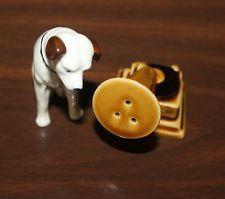 Elephant Football Mascot Salt Pepper Shaker Holder Champ Figurine NIB