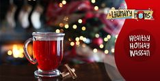 Healthy Holiday Wassail  I cant wait for fall to try this.