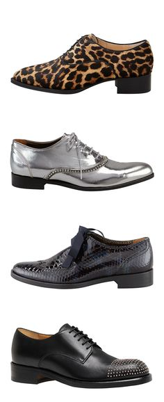 gotta love a wingtip. these are Christian Louboutin, Lanvin & Gucci.