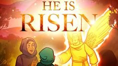 The He is Risen Easter Sunday School lesson for kids explores the greatest event in all of history - the bodily resurrection of Jesus Christ. Bible Videos For Kids, Bible Activities For Kids, Bible Lessons For Kids, Bible For Kids, Free Sunday School Lessons, Sunday School Teacher, Book Of Matthew, Matthew 28, Easter Story For Kids