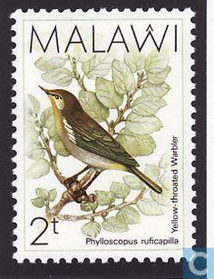 1988 Malawi - Birds