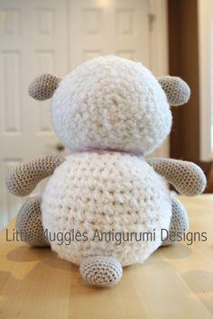 Amigurumi haken patroon knuffels de schapen door littlemuggles
